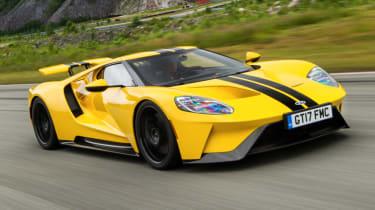 Ford GT Norway road trip - racing