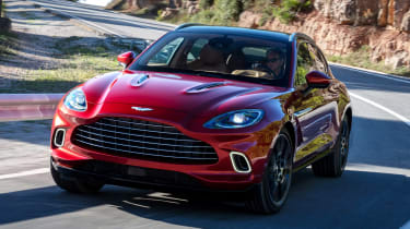 Aston Martin DBX - front action