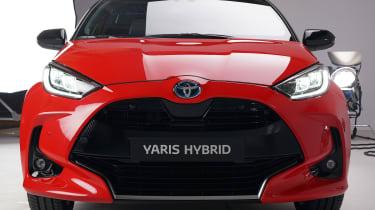 Toyota Yaris - front static studio