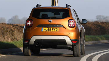 Dacia Duster: long term test review - rear cornering