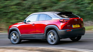 Mazda MX-30 - rear action