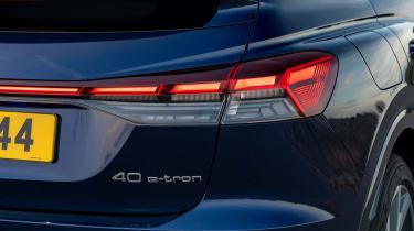 Audi Q4 e-tron Sportback - rear light