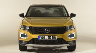 Volkswagen T-ROC - studio full front