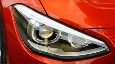 BMW 125d M Sport headlight