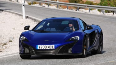The 650S is a faster version of the MP4-12C and is McLaren's anwser to the 458 Speciale and Lamborghini Huracan.