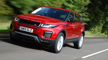 Range Rover Evoque SE Tech 2016 - front tracking