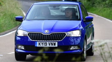 Skoda Fabia SE L: long-term test review - front cornering