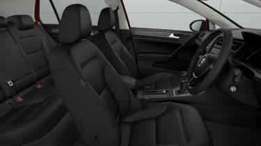 Volkswagen Golf Match - interior