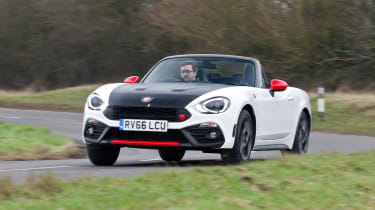 Abarth 124 Spider - front cornering