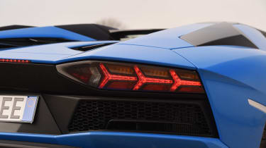 Lamborghini Aventador S Roadster - rear light