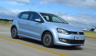 VW Polo BlueMotion - front tracking