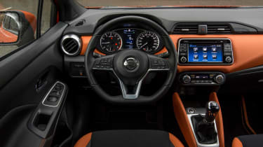 New Nissan Micra - dash