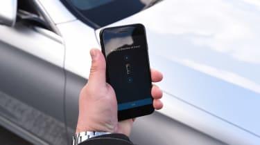 Mercedes E-Class Estate long term - first report parking app