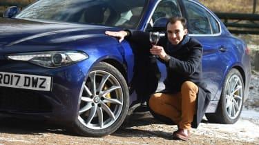 Alfa Romeo Giulia long term test - first report James Batchelor