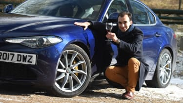 Alfa Romeo Giulia long term test - first report James Batchelor