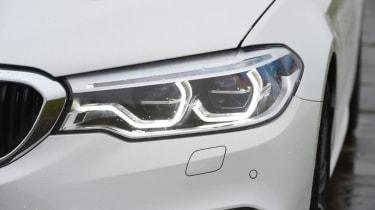 BMW 520d - front light detail