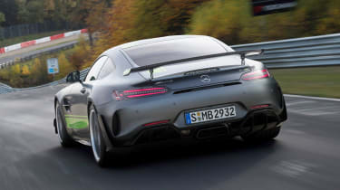 Mercedes-AMG GT R Pro - rear action