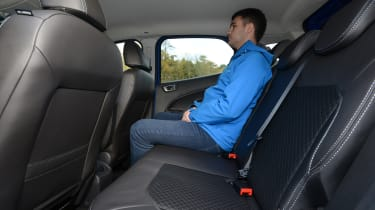 Ford EcoSport 2015 rear seats