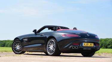 Mercedes-AMG GT Roadster - rear static