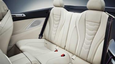 BMW 8 Series Convertible - rear seats