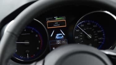 Subaru Outback - dials