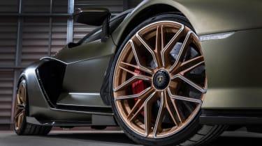 Lamborghini Sian - wheels