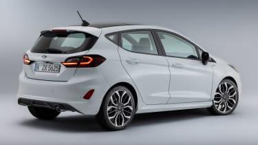 Ford Fiesta facelift - rear