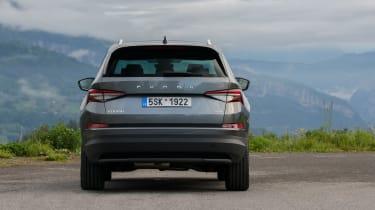 2021 facelifted Skoda Kodiaq SUV - rear