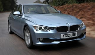 BMW 320d ED front tracking