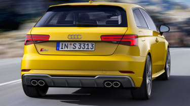 Audi S3 hatch 2017 - rear action