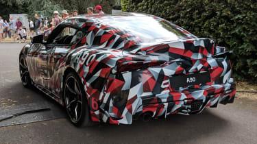 New Toyota Supra rear