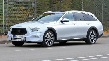 Mercedes E-Class All-Terrain facelift - spyshot 4