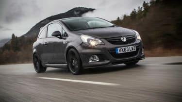 Vauxhall Corsa VXR ClubSport front