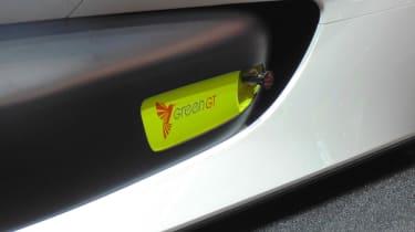 Pininfarina H2 Speed concept - Geneva show detail 2