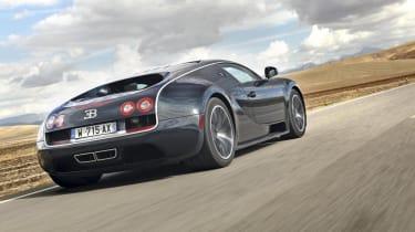 Bugatti Veyron Super Sport driven