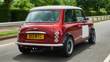 David Brown Mini Remastered - rear