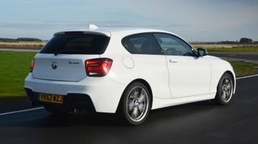 BMW M135i rear tracking