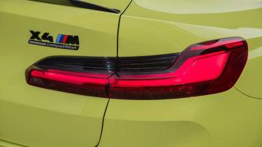 BMW X4 M - rear light