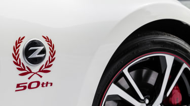 Nissan 370Z 50th Anniversary Edition - side detail