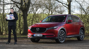 Mazda CX-5 - second report header