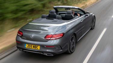 Mercedes C-Class Cabriolet - rear