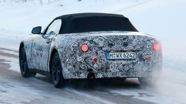 BMW Z4 2017 rear