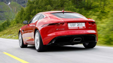 Jaguar F-Type 4-cyl review - rear
