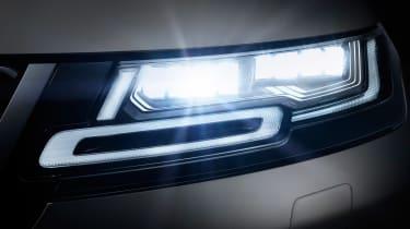 New 2019 Range Rover Evoque lights