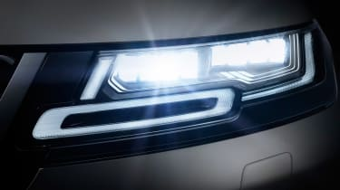 New 2019 Range Rover Evoque lights
