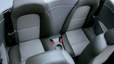 Mitsubishi Colt CZC Turbo backseat