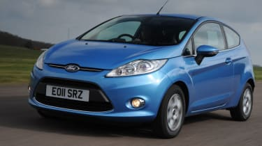 Ford Fiesta front tracking