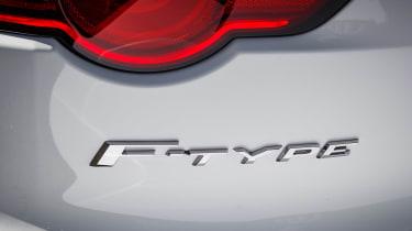 Jaguar F-Type Chequered Flag - F-Type badge
