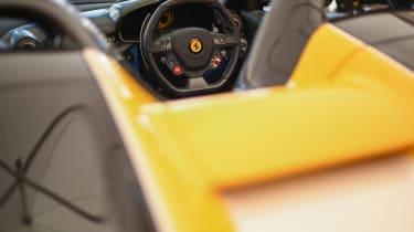 Ferrari SP3JC - buttresses Goodwood 2019