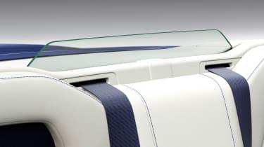 Lexus LC Convertible - rear screen